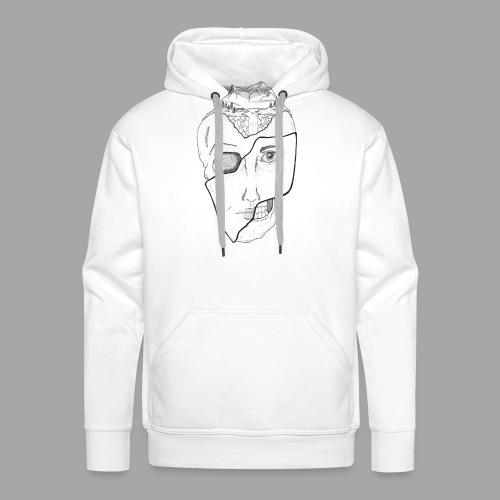 Voyageur Immobile - La valse à mille points - Sweat-shirt à capuche Premium pour hommes