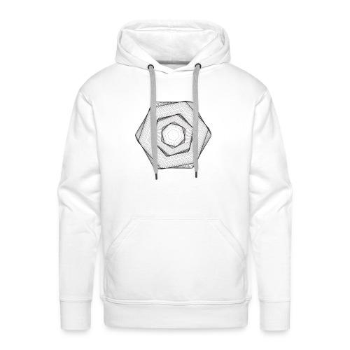 Hexogram Art - Mannen Premium hoodie