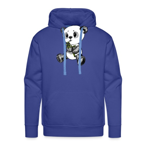 Panda Karhu värillinen scribblesirii - Miesten premium-huppari