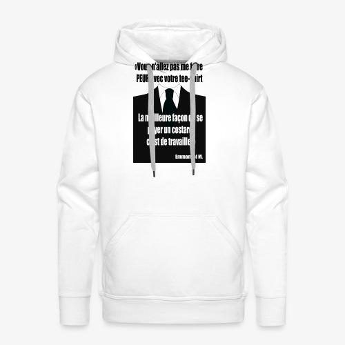 M et le tshirt - Sweat-shirt à capuche Premium pour hommes