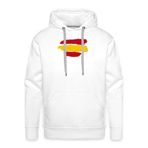 Bandera España - Sudadera con capucha premium para hombre
