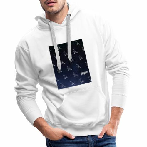 pigeonarmay in space - Männer Premium Hoodie