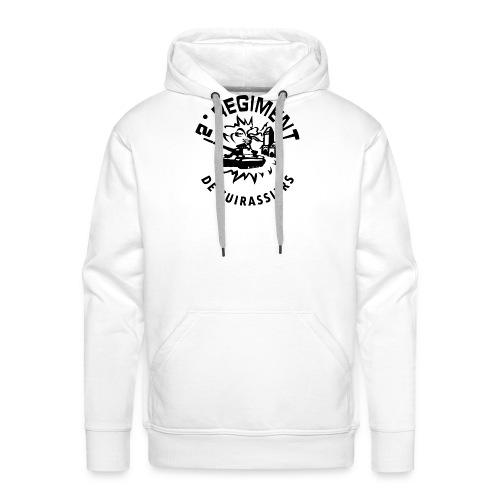 French Army 2RC - Sweat-shirt à capuche Premium pour hommes
