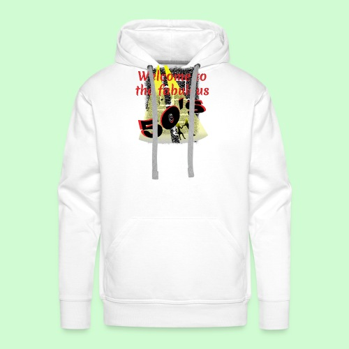 Welcome to the Fabulous Fifties - Mannen Premium hoodie