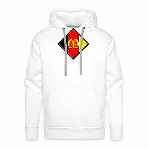 DDR coat of arms stylized - Men's Premium Hoodie