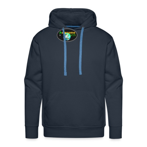 awesome earth - Men's Premium Hoodie