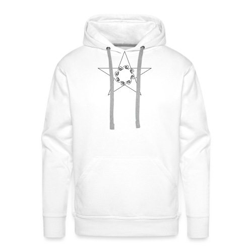 Star - Sweat-shirt à capuche Premium pour hommes