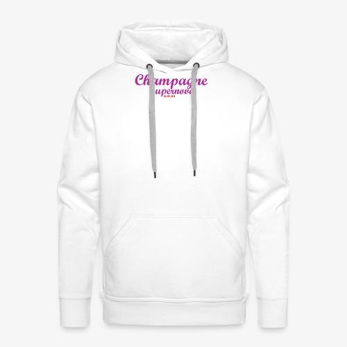 Champagne Supernova violet2 - Männer Premium Hoodie