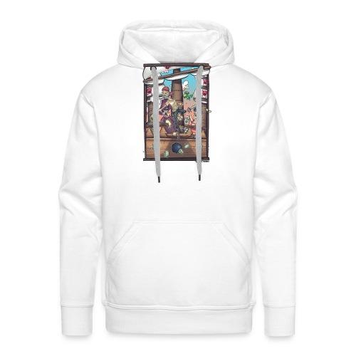les pirates - Sweat-shirt à capuche Premium pour hommes