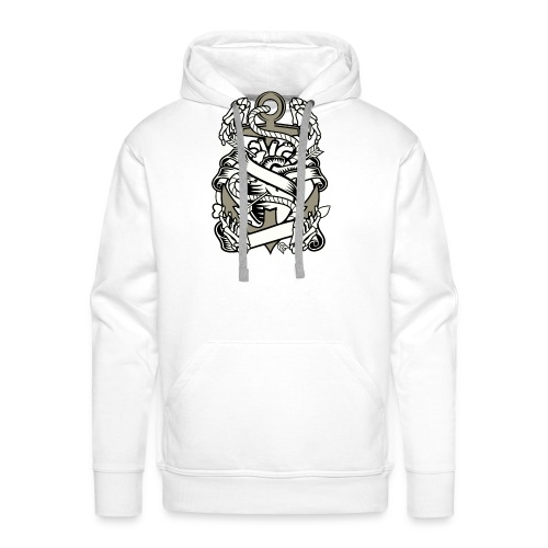 Heart and anchor - Mannen Premium hoodie