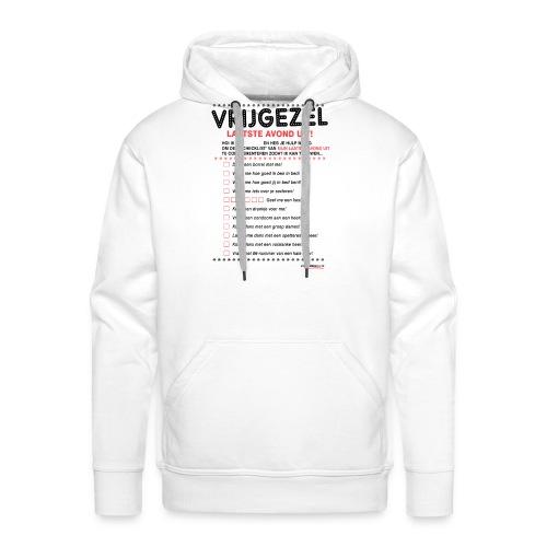 Laatste avond uit vrouw - Mannen Premium hoodie