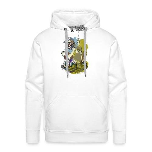 ToxiBrute - Sweat-shirt à capuche Premium pour hommes