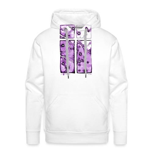 Für immer und ein Tag (violett) - Männer Premium Hoodie