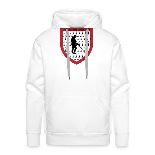 Badge logo - Sweat-shirt à capuche Premium pour hommes