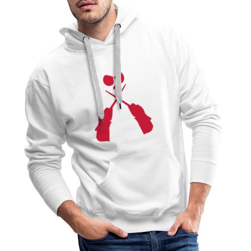 Drum - Sweat-shirt à capuche Premium pour hommes