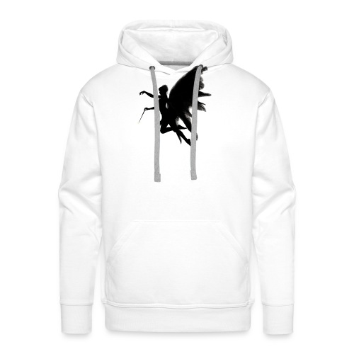 Fairy design angel with angelwings - Mannen Premium hoodie