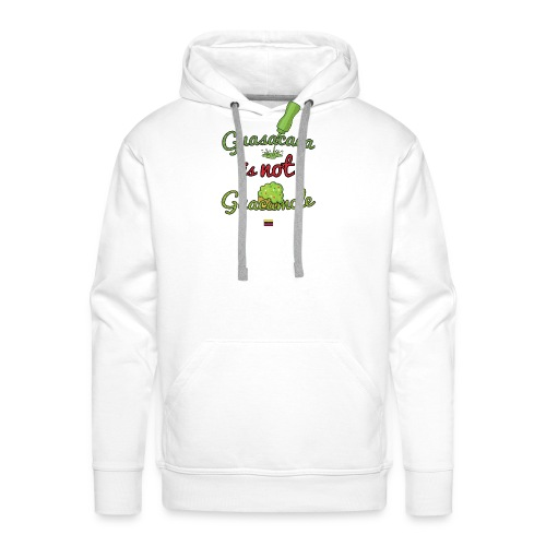 Guasacaca is not Guacamole (with flag) - Sudadera con capucha premium para hombre