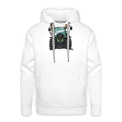 0195 F - Mannen Premium hoodie