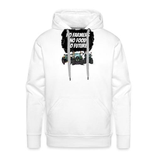 food tshirt F - Mannen Premium hoodie