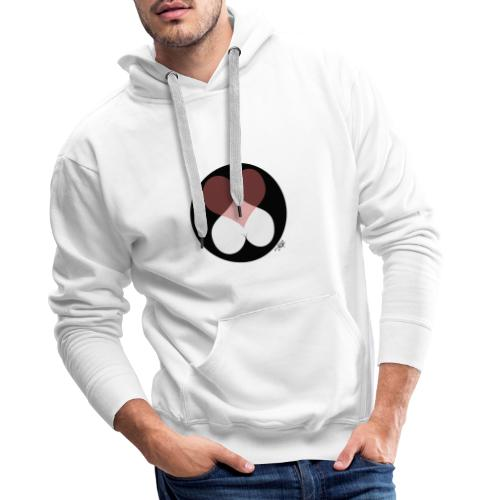 love expo black sans - Sweat-shirt à capuche Premium pour hommes