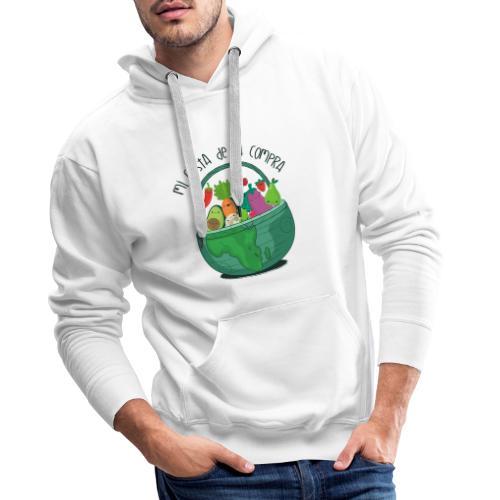 Mi cesta de compra - Sudadera con capucha premium para hombre