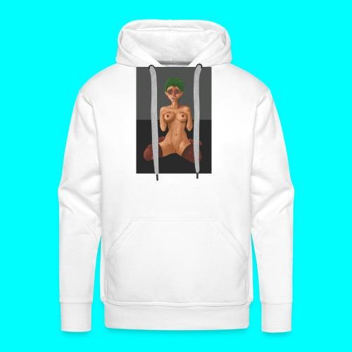 Sexy_Green - Sweat-shirt à capuche Premium pour hommes