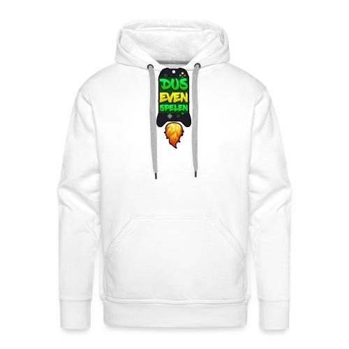 Logo luka rocket zwart - Mannen Premium hoodie