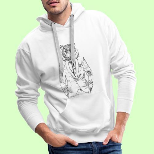 TIGER STYLE!! - Sudadera con capucha premium para hombre