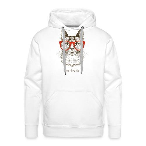 Vorschau: Cat Hipster - Männer Premium Hoodie