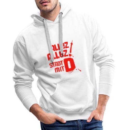 Dickes D 5 3 red - Männer Premium Hoodie
