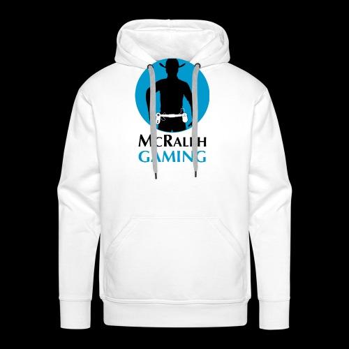 McRalph Gaming Logo 2 Bl - Männer Premium Hoodie