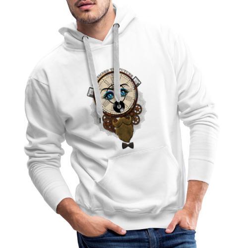 Remember the Futur 'pour couleur Foncée' - Sweat-shirt à capuche Premium pour hommes