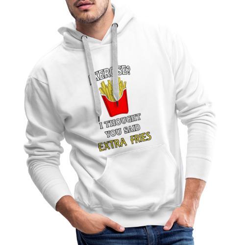 Extra Fries - Männer Premium Hoodie