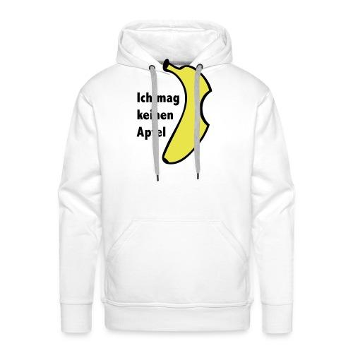 Banane Text - Männer Premium Hoodie
