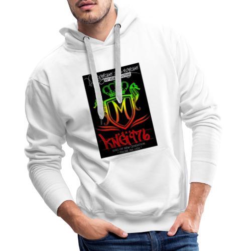 received 417015915126247 - Sweat-shirt à capuche Premium pour hommes