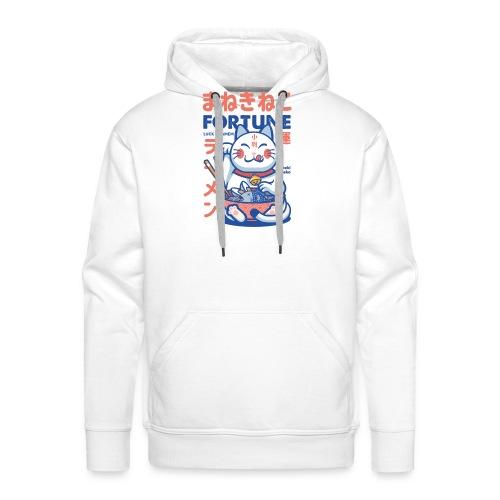 Lcuk & Ramen - maneki Neko - Sweat-shirt à capuche Premium pour hommes