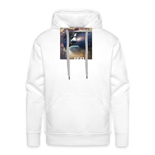 in space WOW - Mannen Premium hoodie