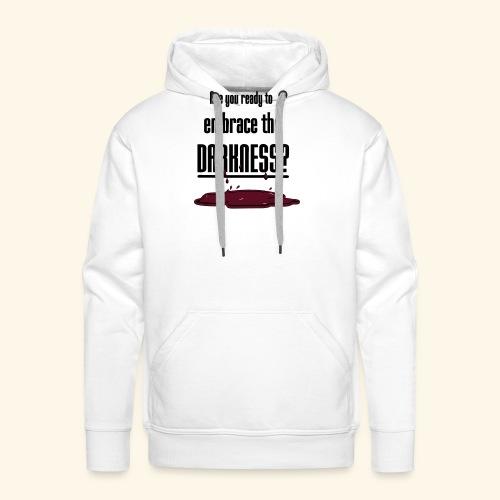 Embrace the Darkness - Men's Premium Hoodie