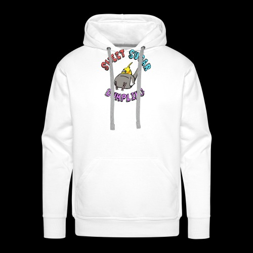 Sweet Sugar Dumpling Cockatiel - Men's Premium Hoodie