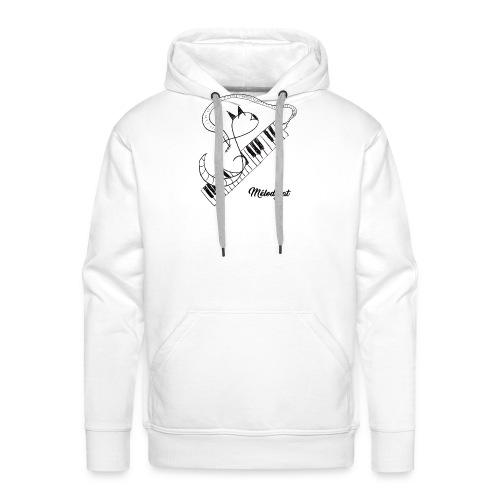 Melodycat - Sweat-shirt à capuche Premium pour hommes