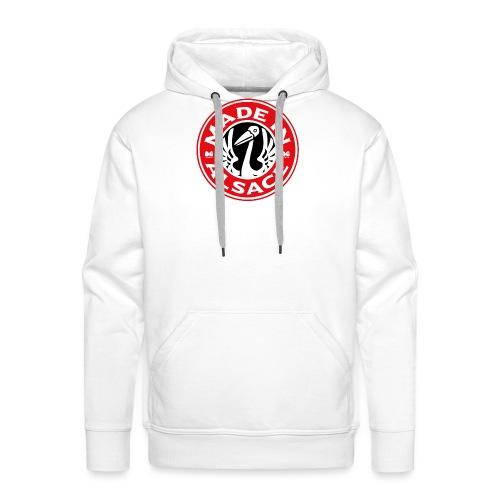 StorkyBuck - Sweat-shirt à capuche Premium pour hommes