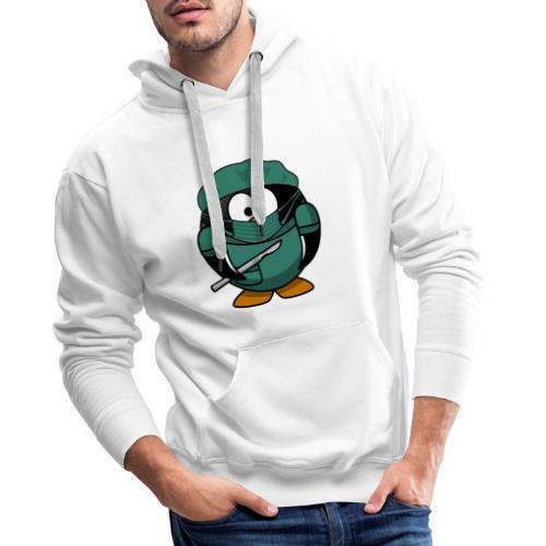 Chirurg Dr. Pengu' Design - Männer Premium Hoodie