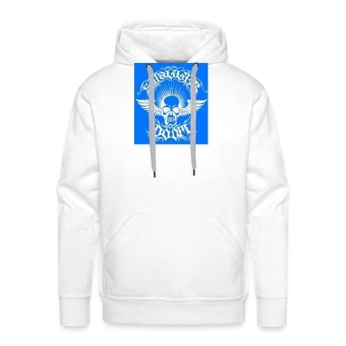 Swagger & Doom Blue/ White 1.0 - Men's Premium Hoodie