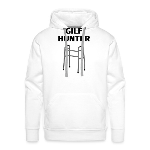 GILF Hunter - Männer Premium Hoodie