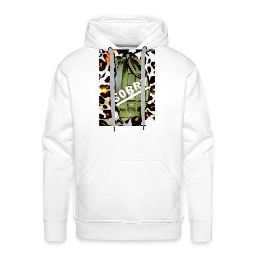 Sorry grenade - Mannen Premium hoodie