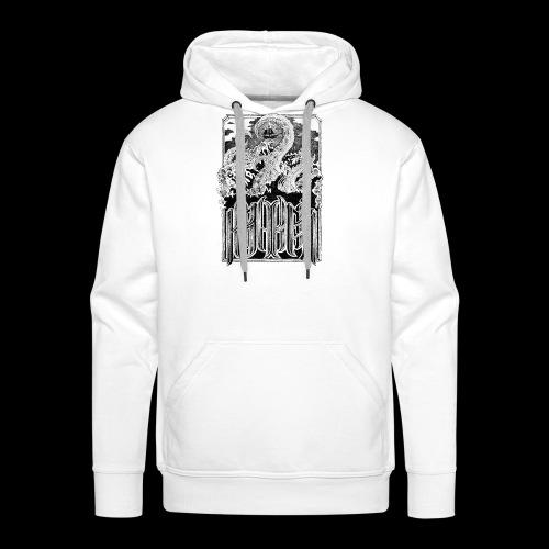 kraken - Sweat-shirt à capuche Premium pour hommes