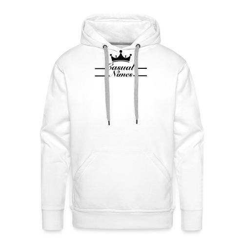Casual Nîmes - Sweat-shirt à capuche Premium pour hommes