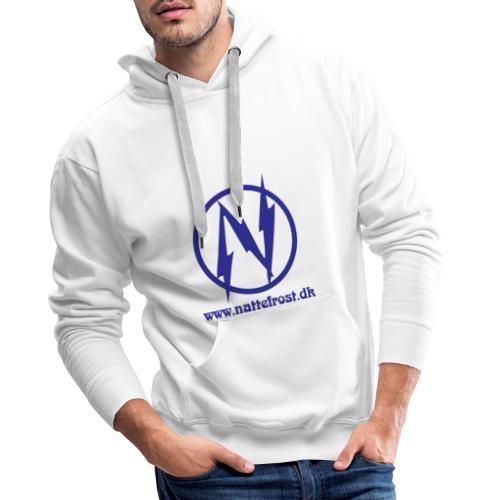 Nattefrost Logo. - Herre Premium hættetrøje