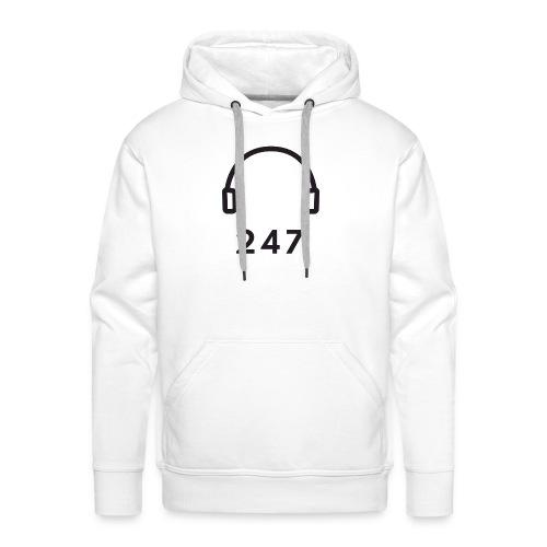 Audio 24/7 - Mannen Premium hoodie