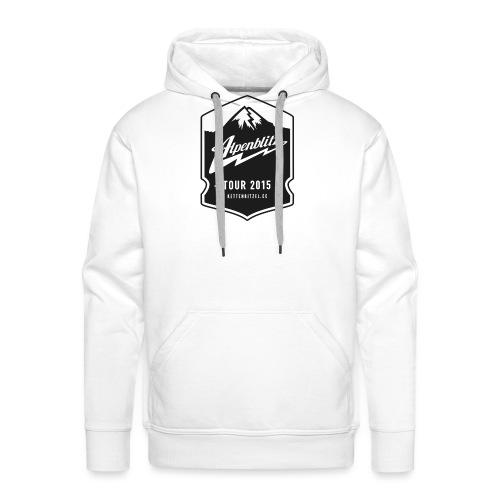 Alpenblitz Logo 2 - Männer Premium Hoodie